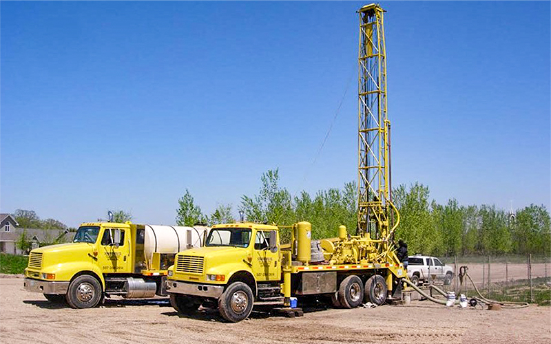 Schaefer Well Company Drilling rig